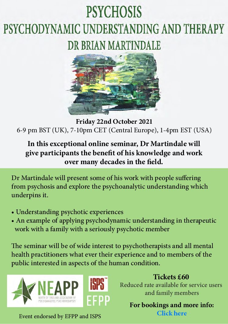 Psychosis – Psychodynamic Understanding and Therapy